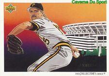 039 DOUG DRABEK TC, CL PITTSBURGH PIRATES BASEBALL CARD UPPER DECK 1992