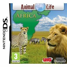 NDS DSi LITE XL GIOCO ANIMAL Life-Africa Africa DSi-Videocamera Sostegno Nuovo
