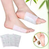 GENUINE Detox Foot Patches Pads Body Toxins Feet Slimming Cleansing Herbal UK