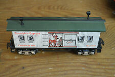 MARX 73412 CHRISTMAS 1994 LIGHTED RUDOLPH'S's EXPRESS BAGGAGE CAR