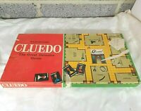 Vintage Cluedo Board Game - Waddingtons - 1970s - One Piece Missing - Used