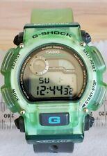 Reloj De Pulsera Vintage CASIO G-shock DW-9000 G-lide módulo 1627 Cronógrafo Verde