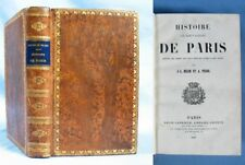 HISTOIRE de PARIS / Belin & Pujol / Belin-Leprieur éditeurs 1843