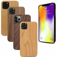Real Wood Snap-On Back Case Cover for iPhone 11 Pro / 11 Pro Max