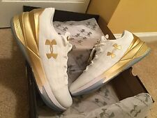 under armour charged controller curry gold white 10.5 shoes