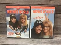 Wayne's World 1 & 2 DVD Widescreen Collection Double Feature Comedy Set
