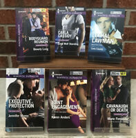 Harlequin Romantic Suspense Lot Of 6 Paperback Books