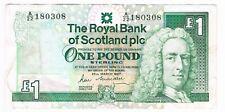 1 POUND SCOTLAND 25-3-1987