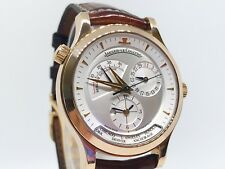 JAEGER-LECOULTRE Master Control 142.2.92 Geographic 18k Rose Gold Mens Watch B/B