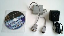 eCov-110 Serial to Ethernet Converter Rs-232 to Tcp/Ip 10/100 Adapter European !
