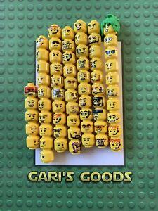 Lego Minifigure Yellow Heads Bundle X65 Genuine RARE !!!