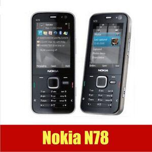 Original Nokia N78 GSM 3G network WIFI GPS Unlocked 3.15MP Bluetooth Cellphone