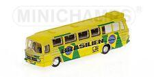 Bus Mercedes Benz O302 1974 Nazionale Brasile 1:160 Model MINICHAMPS