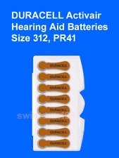 8 duracell hearing aid batteries 312 fresh Expire 2019 Fast Free shipping in USA