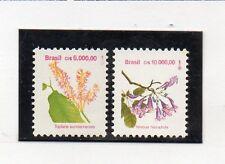 Brasil Flores Serie del año 1992 (CT-982)