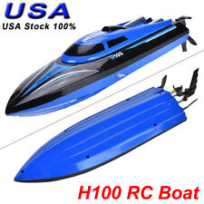 FeiLun H100 2.4G 25km/h Rc Boat High Speed Motor + Wireless Remote Controller Us