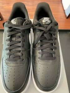 Nike Air Force 1 CT2302-002 - Black / White - Size 10 - New with Box