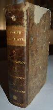 GRAMMATICA - ediz. 1809 - Goudar - ITALIANO E FRANCESE - torino