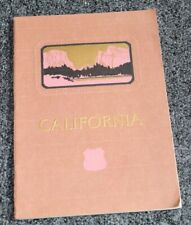 Vintage UNION PACIFIC SYSTEM Travel Book CALIFORNIA