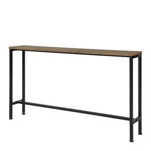 SoBuy® Table Console et 4 Pieds en Fer, FSB19-N, FR