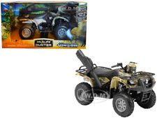 SUZUKI VINSON 500 4x4 QUAD RUNNER GREEN ATV MOTORCYCLE 1/12 BY NEW RAY 42903 A