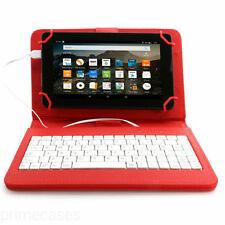 Carcasas, cubiertas y fundas rojos Universal de piel para tablets e eBooks