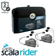 Cardo Scala Rider Q1 Teamset Motorcycle Bluetooth Intercom