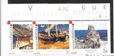 CROATIA SC 441-43 NH issue of 2000 - MODERN ART