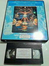 INFINITE VOYAGE PRISONERS OF THE BRAIN (VHS 1991) w/ STUDY PACKET EDUCATIONAL VG