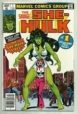 The Savage She-Hulk #1 Marvel 1980 Origin & 1st App of She-Hulk High Grade!