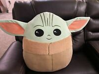 "Baby Yoda! MASSIVE! Star Wars Mandalorian : The Child Squishmallow 20"" Jumbo XXL"
