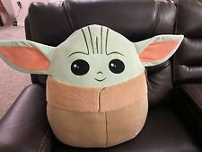 "MASSIVE! Star Wars: The Mandalorian - Baby Yoda Squishmallow 20"" Jumbo XL - New!"
