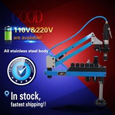 360° Pneumatic Tapping Machine with Universal Flexible Arm, Arm Collet,M3-M12
