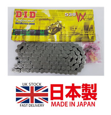 HONDA VFR800 INCEPTOR 2002 - 2013 DID Heavy Duty X-Ring Chain 530 VX / 110 L