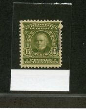 UNITED STATES 15c CLAY SCOTT#09S-E WITH PHILATELIC FOUNDATION CERT  MINT HINGED
