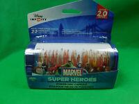 Lot of 2 Disney Infinity Marvel Super Heroes Power Disc Capsule 2.0