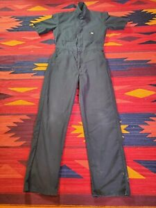 Dickies Men's Coverall Workwear Overall Snap Front Short Sleeve Size S