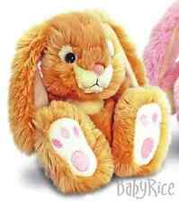 New Honey Patchfoot Long Eared Cuddly Rabbit 18cm Brown