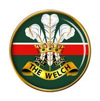 Welch Régiment, Armée Britannique Broche Badge