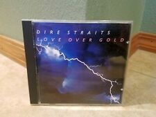 Dire Straits Love Over Gold cd 1982 Target Face Made In Japan 9 23728-2 WB label