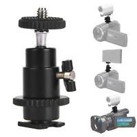 """CSM-1 Mini 1/4"""" 360 Swivel Ball Head Screw Tripod DSLR Ballhead Stand For Camera"""