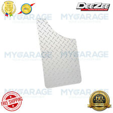 Dee Zee DZ1808 Silver Diamond Plate Mud Flaps for Chevy Dodge Ford GMC RAM Jeep