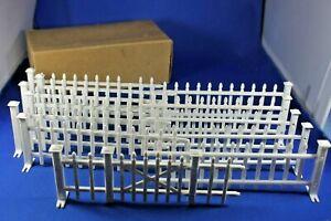 Plasticville - O/S CF-5 Picket Fence & Gate - Dealers Box - Excellent+++