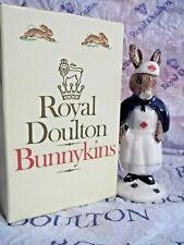 New ListingRoyal Doulton Bunnykins Figurine Mint In Box Nurse Rare Red Cross Free Shipping