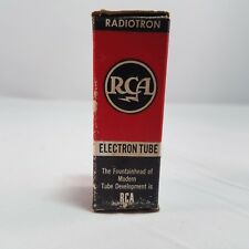 RCA 123H7 Electron Radiotron Radio Audio Amp Vacuum Tube Antique TV NOS