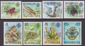 SET Seychelles 1981 Wildlife & Marine Life Definitive 1r-20r MNH Stamps SG487/94