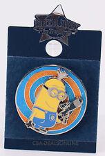 NEW Universal Studios Pin Trading Despicable Me Minion Mayhem Spinning Pin