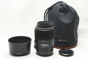 Sony 100mm F2.8 MACRO SAL100M28 AF Lens for Sony Minolta Alpha Mount #211021e