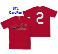 St Louis Cardinals July T-Shirt Schoendienst of the Month SGA 7/31 XL New
