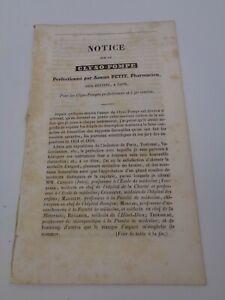 Adrien Petit : Notice sur le Clyso-Pompe 1840